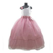 Busca Vestido 099 De Fiesta Para Nina Color Palo De Rosa