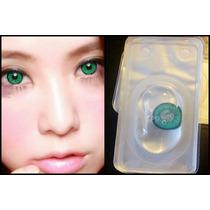 Pupilente Anime Big Eye Morado Amarillo Verde Rosa Azul Etc