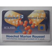 Tarjeta Ladatel C/ Blister Promocional N$5 Roussel