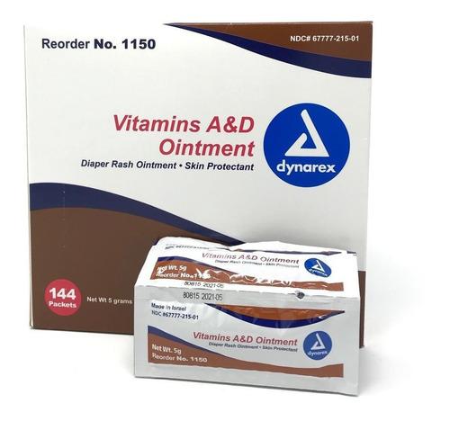 48 Sobres Dynarex Vitamins A & D Crema Para Tatuajes Rensow