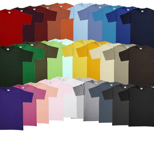 Playera Lisa Algodon Estampar bordar. Yazbek. 30 Colores! en venta ... fa9d270281571