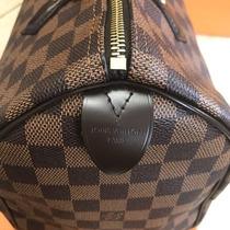 1e2bff1d2 Bolsa Louis Vuitton Speedy 30 Damier Azur Monogram Lv Caja en venta ...