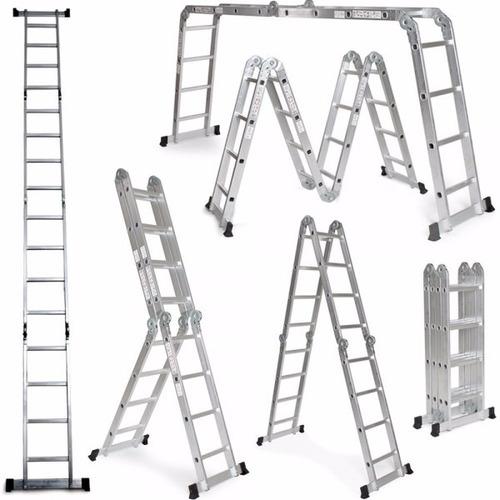 8 posiciones escalera multifuncional completamente