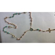 Rosario De De Divino Niño Jesus En Perla De Cristal