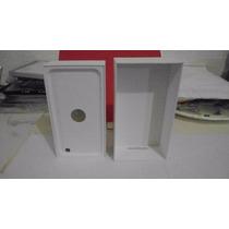 Caja Para Iphone 6 Plus Silver 64gb Color Blanca