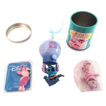 Set Straps Puerquito Stitch Lata Gato D Alicia Disney Y261 7