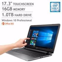 Hp Pavilion 17t 1080p Windows 10 Pro Touchscreen 16 Gb 1 Tb