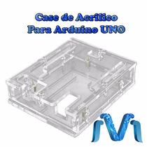 Gabinete Caja Acrílico Case Para Arduino Uno R3