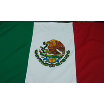 Bandera Mexico Exteriores 1,70x3 Mts Patios Uso Rudo