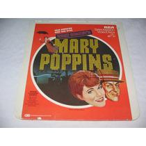 Video Disco Pelicula Mary Poppins De Disney Vintage De 1981