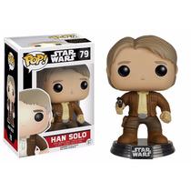 Han Solo Funko Pop Star Wars Vii Kylo Ren Chewbacca Viejo