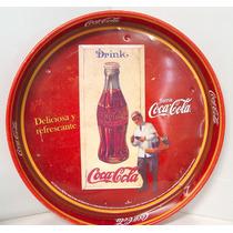 De Coleccion Charola Coca Cola Retro Del 2010