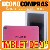 Tablet 9 Pulgadas Android, 8gb Memoria, Wifi, Bluetooth,