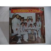 Dimension Latina Los Generales De La Salsa 1978 Lp Mexicano