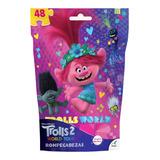 Rompecabezas Bolsa Foil Trolls World Tour 48 Piezas Jca-2664