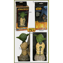 Bobble Head Yoda 7 Inch Star Wars Version Rots 2005 Cabezon