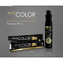Tinte Profesional Max Color 90g Con Peroxido