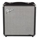Amplificador Fender Rumble 25 25w Transistor Negro Y Plata 110v