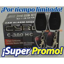 Alarma Audiobahn Cyborg C300 + Kit 2 Seguros Electricos