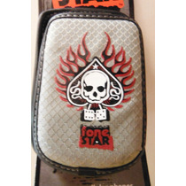 Funda Clip Para Celular Ace Skull By Lone Star Universal