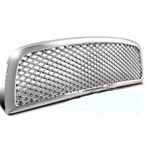 Parrilla Dodge Ram 09 10 11 12 Honeycomb Mesh Cromada