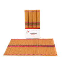 Mantel Individual Bamboo Naranja Jgo 4 Pcs Sm-426097 Namaro