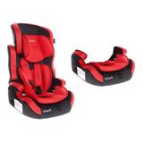 Booster Con Respaldo Infanti Sport Shell Rojo