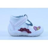 Zapatos Pingo Sandy Blancos Para Niña 11.5 O 14 Mod 1440