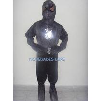 Disfraz Hombre Araña Negro Talla 8 Años Disfraces Hombre A