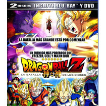 Bluray Dragon Ball Z: Batalla De Los Dioses ( 2013 ) Masahir
