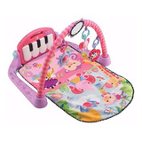Gimnasio Piano Pataditas Rosa Fisher Price