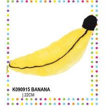 Banana De Peluche 25 Centimetros