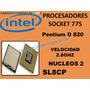 Procesador Intel Pentium D 820 2.8ghz Sl8cp Socket 775