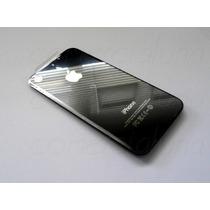 Tapa Trasera Iphone 4 Negro 4g Cubierta Cristal Apple Vbf