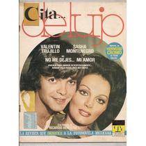 Sasha Montenegro Valentín Trujillo Revista Fotonovela 1976