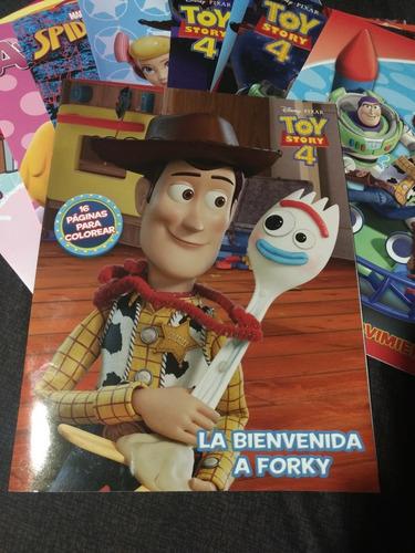Libros Para Colorear Toy Story 4 Tamaño Carta En Venta En El