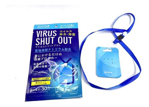 Saniticard Tarjeta Sanitizante Desinfectante Japones 10pz