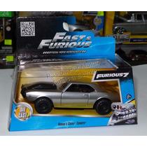 1:32 Chevrolet Camaro Roman´s Rapido Y Furioso Jada Caja