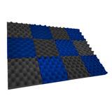 Superkit 100 Paneles Espuma Acustica Colores