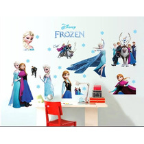 C Vinil Decorativo De Frozen P/ Habitación Infantil
