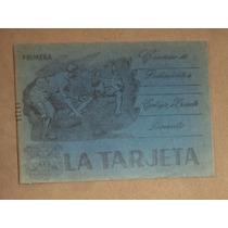 Cuaderno Antiguo La Tarjeta, Puebla