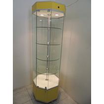 Aparador De Torre Octagonal Vitrina Exhibidora
