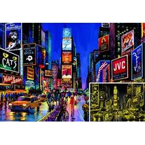 Puzzle Educa 1000 Piezas Fluorescente Nueva York 13047 Games