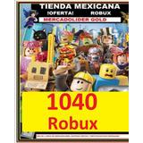 1000 Robux En Roblox(tienda Mexicana)