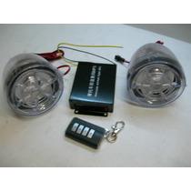 Alarma / Stereo Para Motocicleta Mp3, Control Remoto