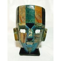 Mascara Incrustacion Piedra Cuarzo,obsidiana, Concha Nacar!!