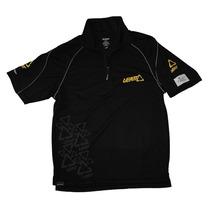 Camisa De Pit Leatt Team 1/4 C/zíper Negro Lg