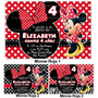 Invitaciones Minnie Mimi Disney Kit Imprimible Fiesta