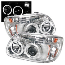 Faros Lupa Ojo Angel Led Ford Explorer 1998 1999 2000 2001