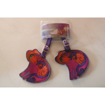 Laurel Bursh Set Luggage Tag Etiqueta Para Equipaje Dog